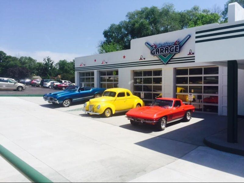 Home the classic garage llc for Garage bc automobile chateauroux