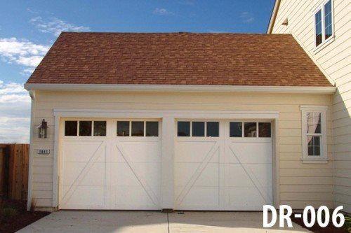 White Door Garage