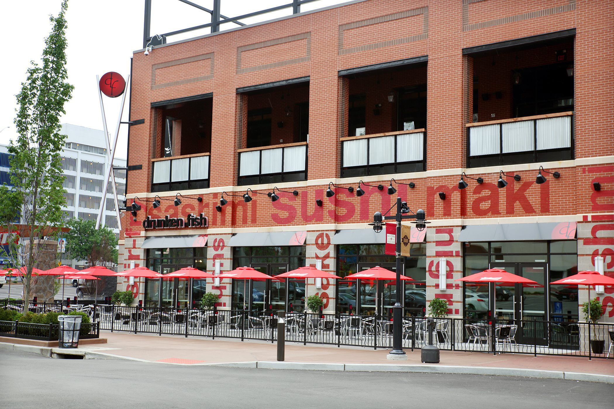 gallery of ballpark village drunken fish sushi restaurant