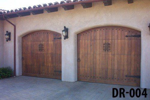 Wooden Door Garage