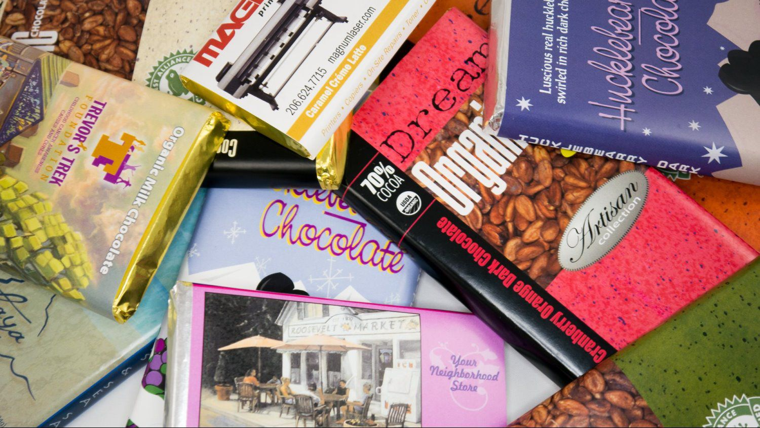 Custom Label Chocolate Bars - Dream Chocolate
