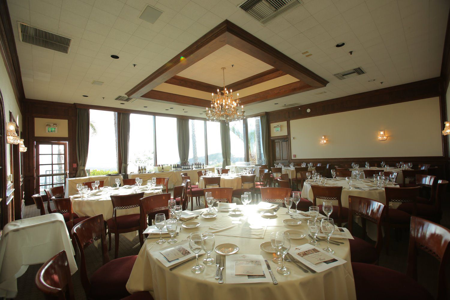 banquet rooms castaway burbank the valley view dining room