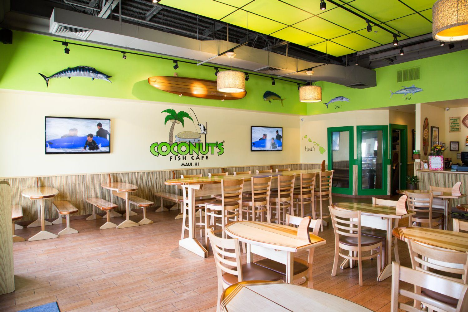 About coconut 39 s fish cafe llc for Coconut s fish cafe