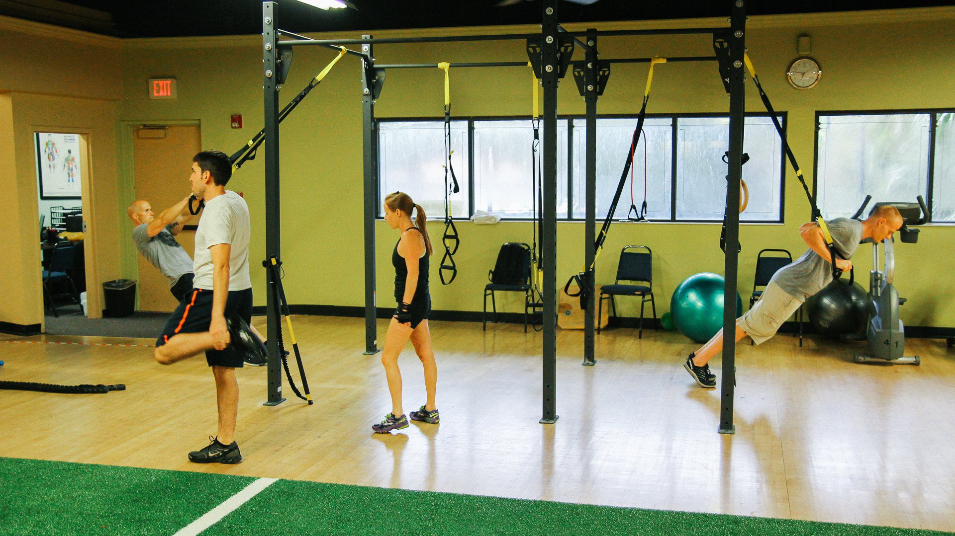 functional training exercises list pdf