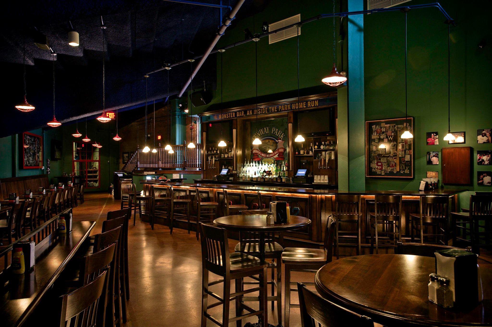 home bleacher bar