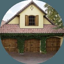 Superieur Residential House Door. Overhead Door And Gate