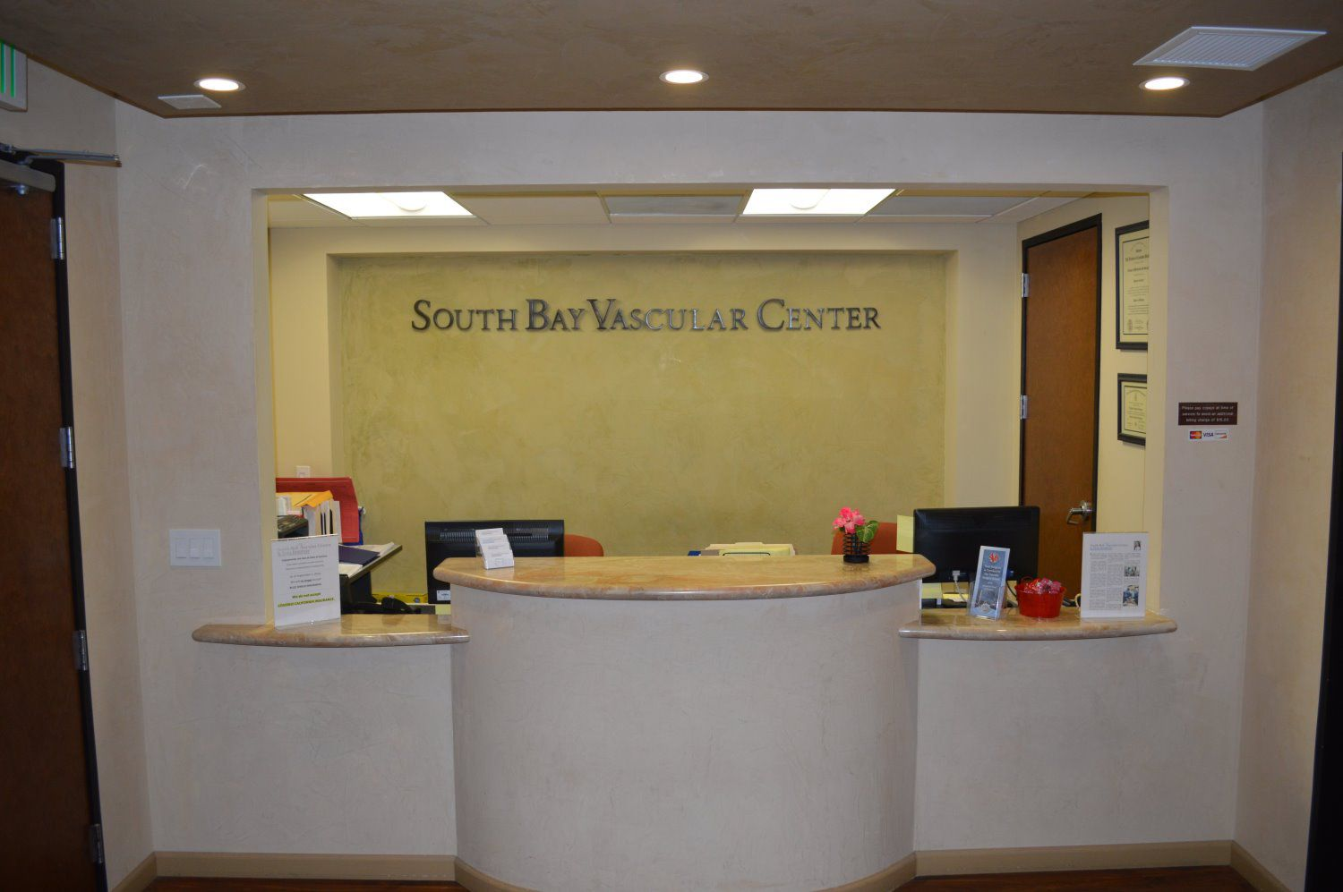 South Bay Vascular Front Desk