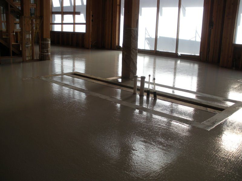 Radiant Heat Thermal Mass Janes Gypsum Floors