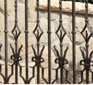 Custom Decorative Wrought Iron Gates In Montecito Ca