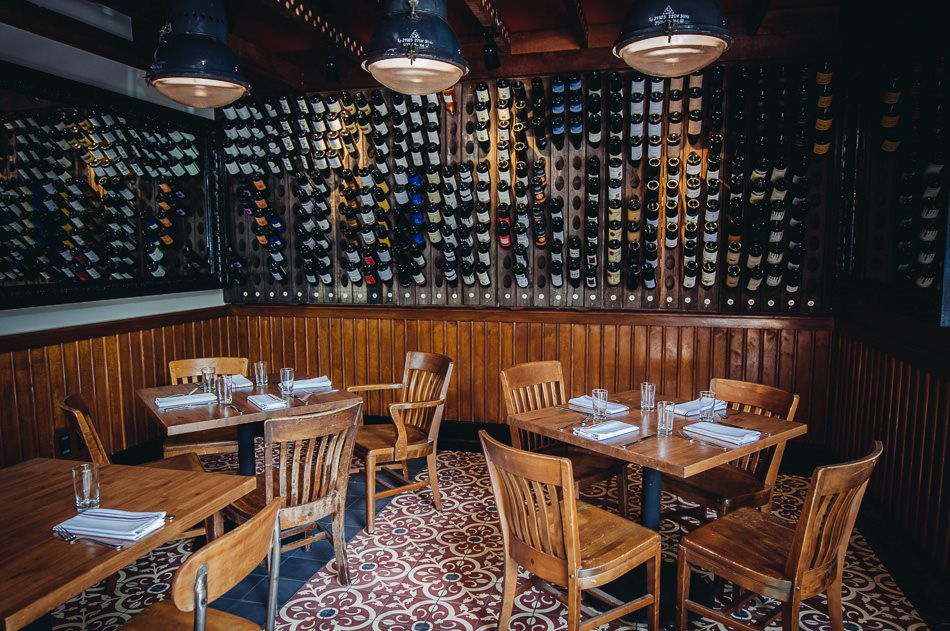 Home stoneburner for Best private dining rooms seattle