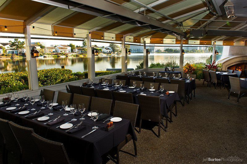 Water Front Room Mistral Restaurant Bar