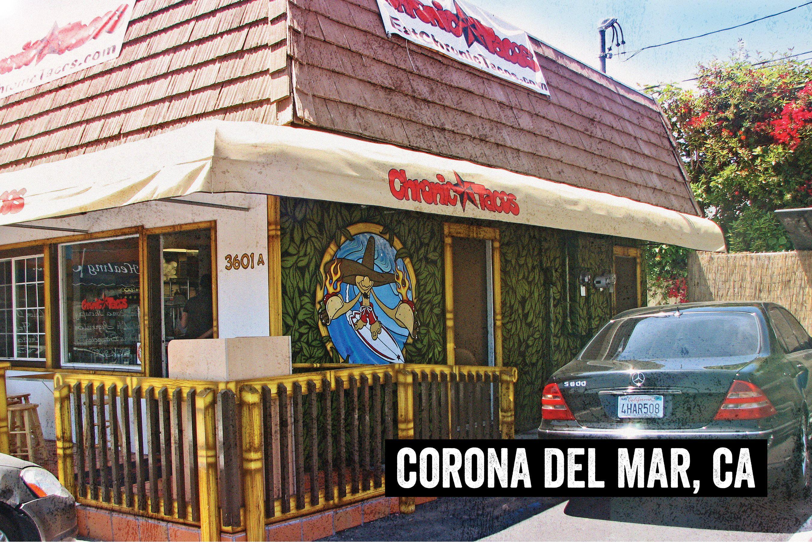 Corona Del Mar Chronic Tacos Mexican Grill