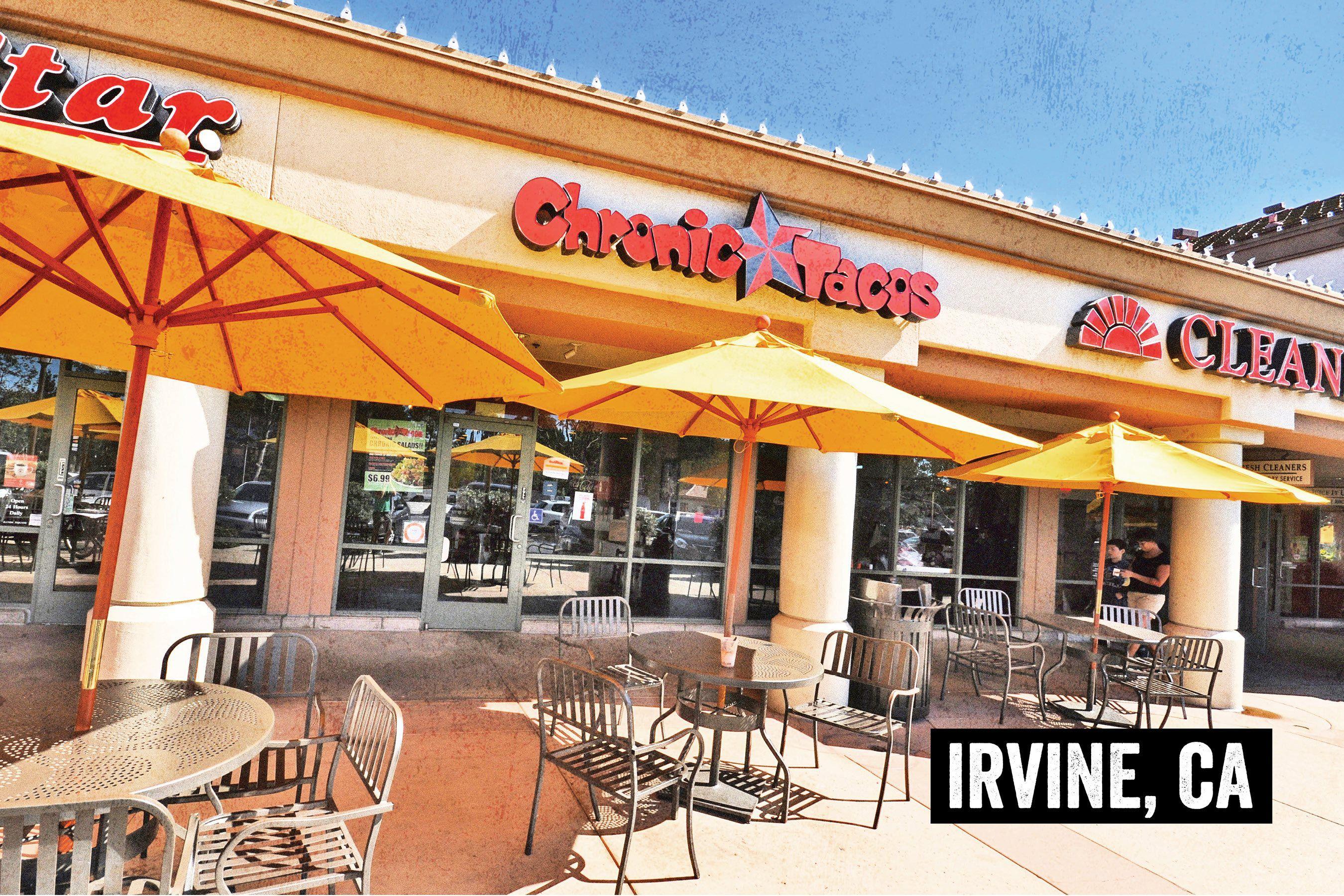 Irvine Alton Square Chronic Tacos Mexican Grill