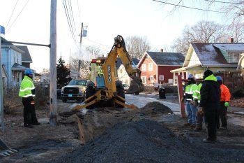 Street digging