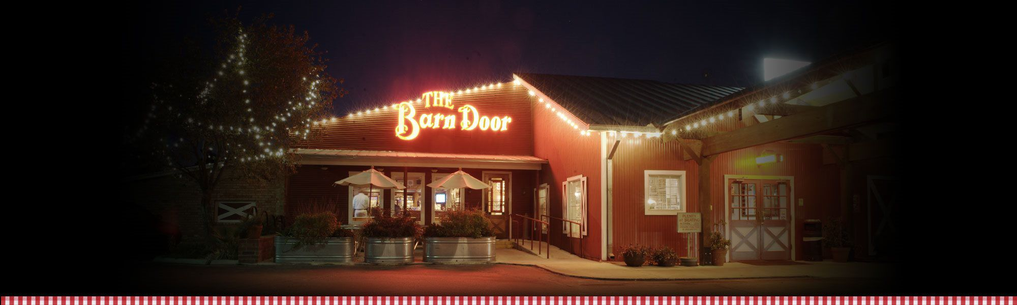 Home The Barn Door Restaurant