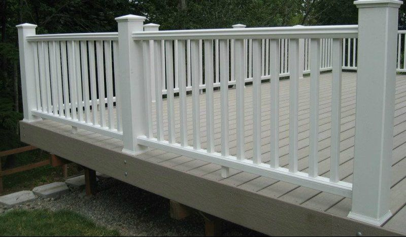 Patio   Fencing : Deck : Railing : Gates : Patio   Vinyl Smart Fencing Inc