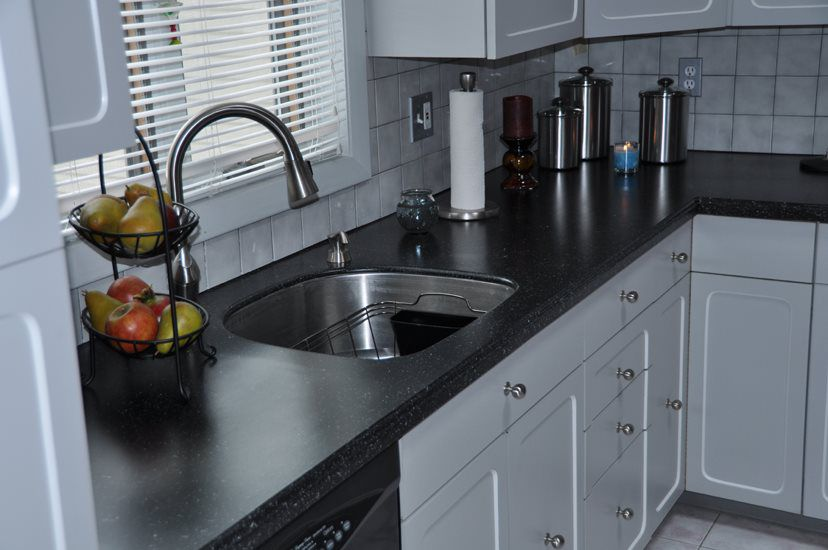 Our Kitchen Countertop Finishes Have The Look And Feel Of Corian®, Granite,  And Other Solid Surfaces. These Beautiful, Highly Durable Surfaces Will ...