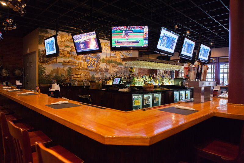 Image result for picture of a sports bar