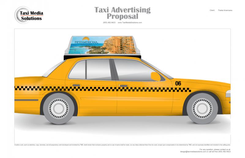 Artwork Proposal - Taxi Media Solutions