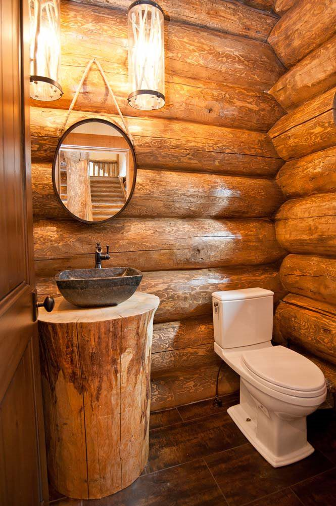 Falcon Mews Hand Crafted Log Home Mountain Log Homes Of