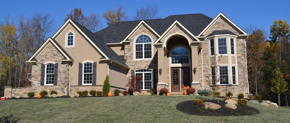 Custom home builders serving stow oh build on your lot for A e custom homes