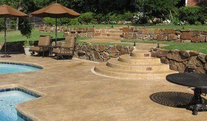 Decorative Concrete Services In Oklahoma Beauty Crete Inc