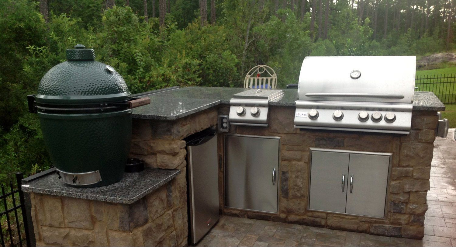 Jacksonville Outdoor Kitchen Construction - Construction ...