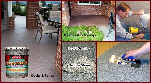 ames liquid granite application ile ilgili görsel sonucu