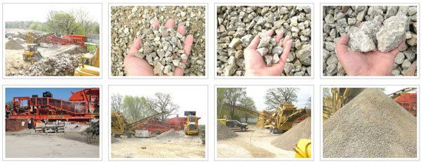 Iowa Independence Iowa Wall Sawing : Moblie concrete crushing iowa wall sawing