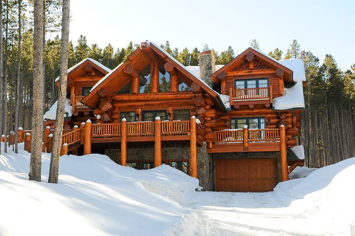 Peak 8 Parade Winner Mountain Log Homes Of Colorado Inc