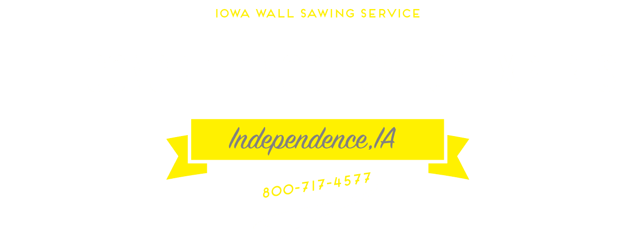 Iowa Independence Iowa Wall Sawing : Iws iowa wall sawing the concrete modification experts