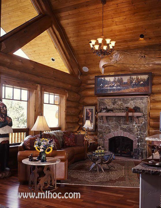 Ptarmigan Parade Winner Mountain Log Homes Of Colorado Inc