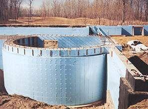 Lite Form Concrete Walls - Donlin Building