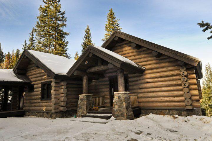 Sustainable beetle pine cabin breckenridge mountain log for Breckenridge colorado cabins